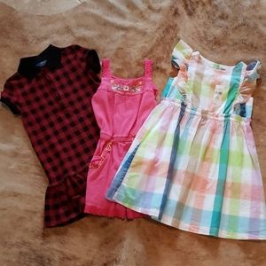 Girls Size 5 Dresses and Romper